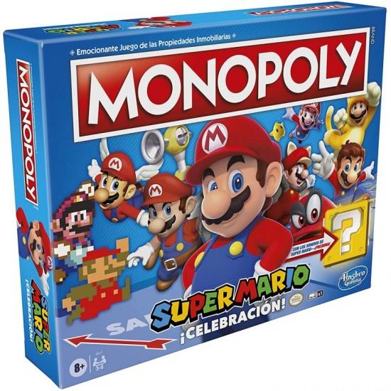 HASBRO MONOPOLY SUPER MARIO...